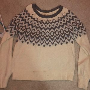 Bedazzled holster knit sweater